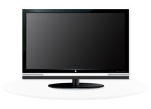 HD TV Royalty Free Stock Photography