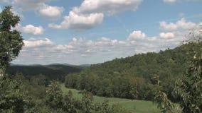 Hd uprawia ziemię wsi shenandoah dolinę zdjęcie wideo