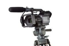 HD video camcorder Royalty Free Stock Image