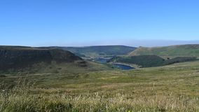 HD Video Saddleworth Moor Peak District National Park stock video footage