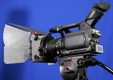 Hd-videocamera portatile del basamento Fotografie Stock