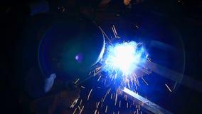 HD : welder stock footage