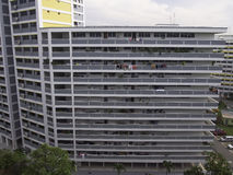 HDB Apartment Block in Singapore stock image