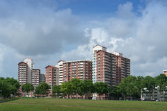 HDB estate in Hougang Royalty Free Stock Photography