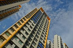HDB Flat Singapore. HDB flat - public housing - in Singapore Royalty Free Stock Image