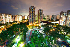 HDB housing block in Singapore. This image shows a HDB housing complex in Singapore Stock Photography