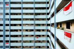 HDB Housing in Singapore Stock Photography