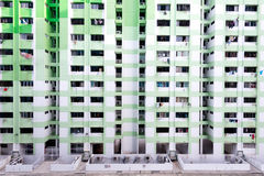 HDB Housing, Singapore. This image shows the dense HDB Housing, in Singapore Royalty Free Stock Photo