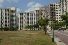 HDB Singapore fotografering för bildbyråer