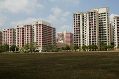 HDB Singapore stock photography