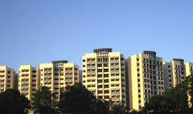 HDB in Singapur Lizenzfreies Stockbild