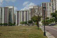 HDB Singapur imagen de archivo