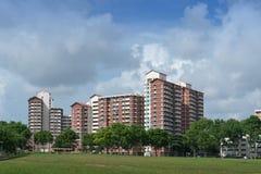 HDB Zustand in Hougang Lizenzfreie Stockfotografie