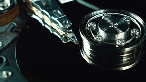 Hdd,硬盘 计算机techologies 数据存储,信息 硬盘的内部部分 创新 服务器 股票视频