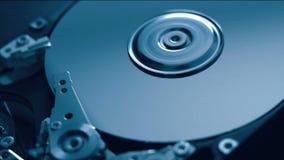 HDD στην κίνηση απόθεμα βίντεο
