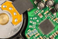 HDD закрывают вверх Стоковое Изображение RF