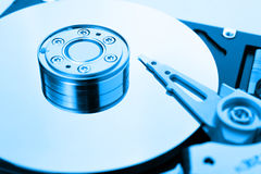 HDD as a background Royalty Free Stock Photos