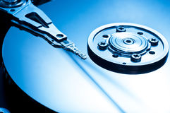 HDD Background Royalty Free Stock Photography