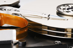 Hdd background Royalty Free Stock Image