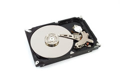 HDD. Background HDD object computer pc Stock Images