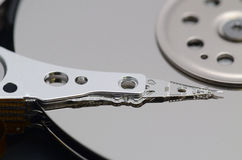 HDD close-up Royalty Free Stock Photography