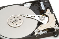 HDD close-up Stock Photography