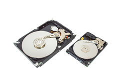 HDD. Computer device hardware harddrive pc Stock Photography