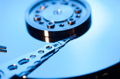 Hdd concept, hard drive disc Stock Photos
