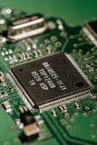 HDD controller. Macro shot smd Stock Photo