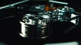 Hdd, disco rígido do computador Armazenamento de dados digitais Techologies do computador vídeos de arquivo