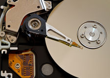 HDD drive. Closeup picture of Computer HDD drive Royalty Free Stock Photography