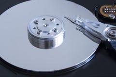 HDD - drive del hard disk Fotografie Stock Libere da Diritti