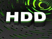 HDD Festplattenlaufwerk Lizenzfreies Stockbild