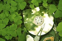 Hdd in grass Stock Photography