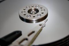 HDD - Hårddiskdrev är öppet Arkivfoton