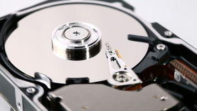 HDD Hard Drive Disk. Close-Up Stock Image