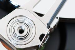 HDD Harddisk internals closeup datadisk Royalty Free Stock Photos