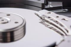 HDD heads tätt upp Fotografering för Bildbyråer