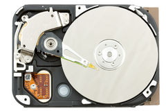 HDD isolated Stock Image