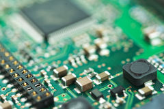 HDD kontrolera PCB tło Obrazy Stock