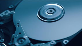 HDD in motie stock video