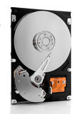 HDD op whitre Royalty-vrije Stock Afbeelding