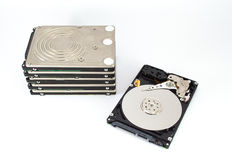 HDD. PC computer data device Royalty Free Stock Photos