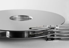 HDD platter Stock Image
