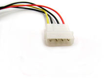 Free Hdd Power Supply Cable Stock Photography - 15632862