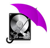 HDD Protection Royalty Free Stock Photos