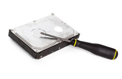 HDD repair Royalty Free Stock Image