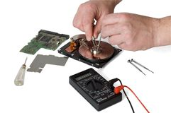 HDD repair Stock Photography