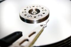 HDD - Uma movimentação de disco rígido está aberta Imagem de Stock Royalty Free