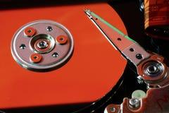 HDD wśrodku skrzynki zdjęcie stock